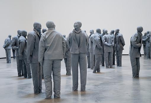 One of Juan Muñoz's works