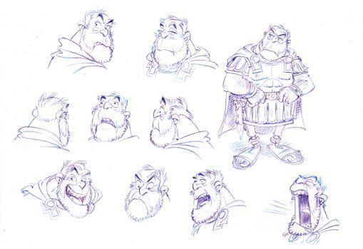 Varios bocetos de Ensujugus