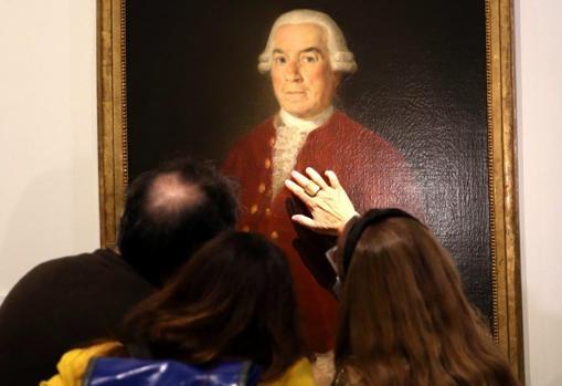 José de Toro-Zambrano, first director of the Banco de San Carlos, portrayed by Goya