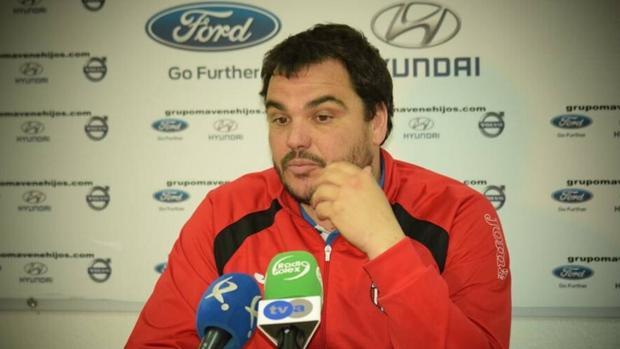 Antonio Jesús Cobos, el entrenador del Azuaga