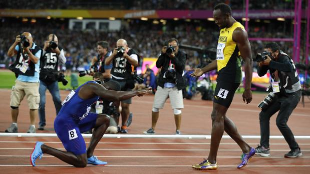 Usain Bolt, bronce en el Mundial de atletismo de Londres 2017