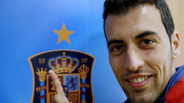 El centrocampista del FC Barcelona, Sergio Busquets, en una imagen de archivo de 2012