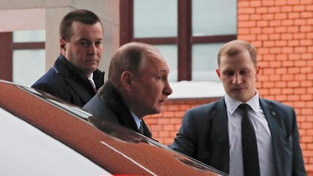 Vladimir Putin en un acto de esta semana en Rusia