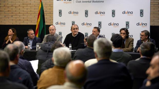 Juanan Morales preside la Junta General de Accionistas del Joventut