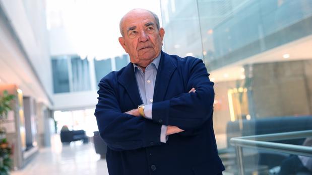 Luis Beneyto, durante la entrevista