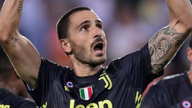 Bonucci, en un partido de la Juve