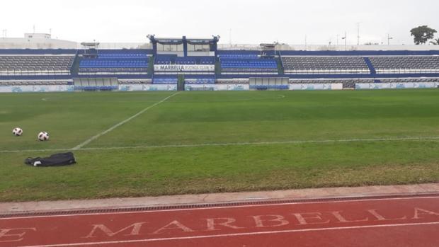 El estadio del Marbella