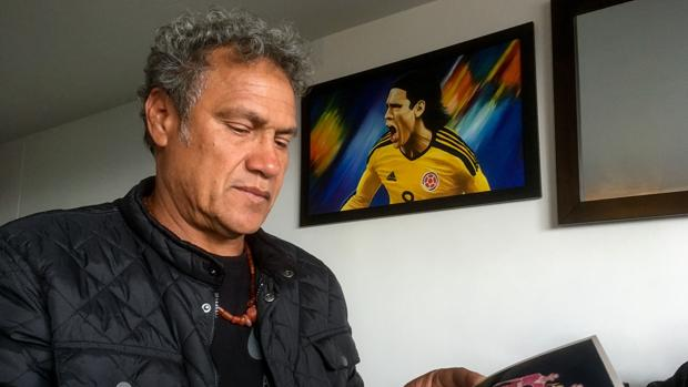 Radamel García King, padre de Radamel Falcao