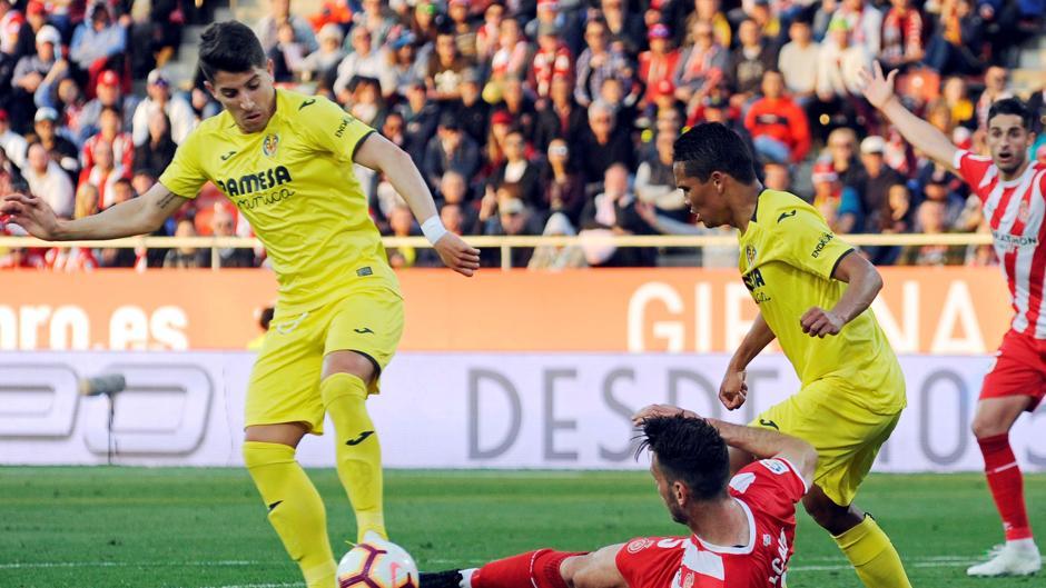 La Liga Santander (J32): Resumen y goles del Girona 0-1 Villarreal