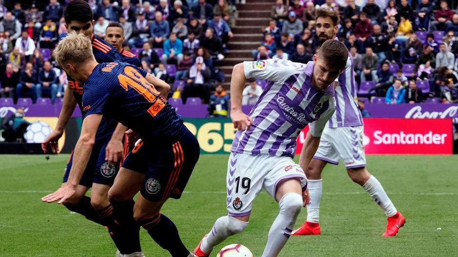 LaLiga Santander (J38): Resumen y goles del Real Valladolid 0-2 Valencia