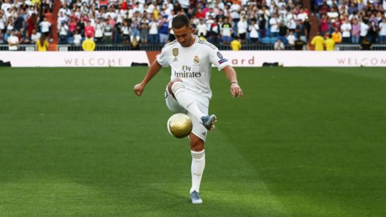 Real Madrid: Eden Hazard: «Soy muy bueno, pero aún no soy un