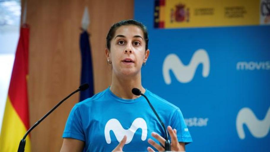 Carolina Marín, a la espera de su rodilla