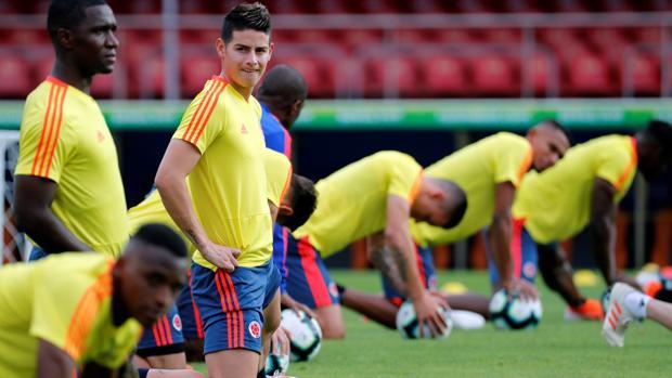 James, en la Copa América