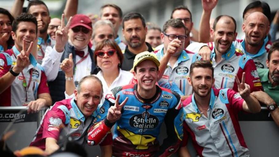 Álex Márquez se queda un año más en Moto2