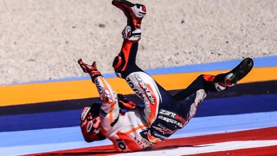 Pole para Viñales tras un nuevo encontronazo entre Márquez y Rossi