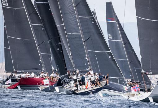 La flota tras la salida