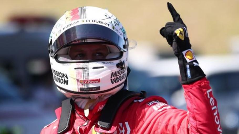 Vettel se hace con la «pole» en Suzuka por delante de Leclerc