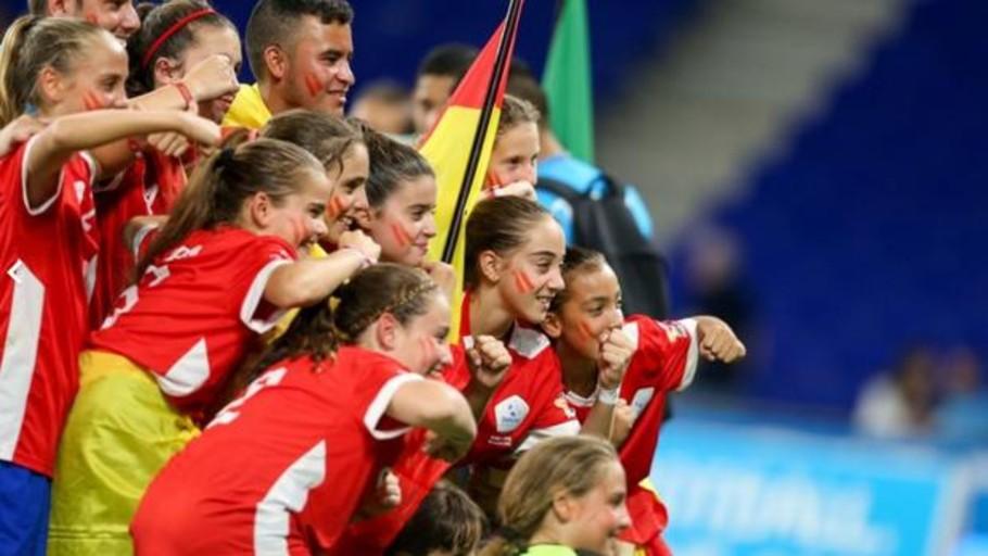 El Barça renunció a la Danone Nations Cup por tener que vestir los colores de España