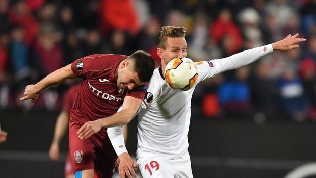Resultado de imagen de Cluj Sevilla
