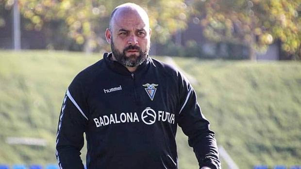 Manolo González, entrenador del Badalona