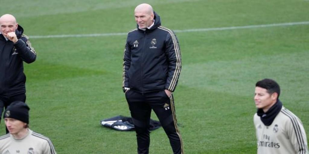 Zidane: «Lo de Bale es una pena, pero es poco, se torció el tobillo, quiero que tenga continuidad»