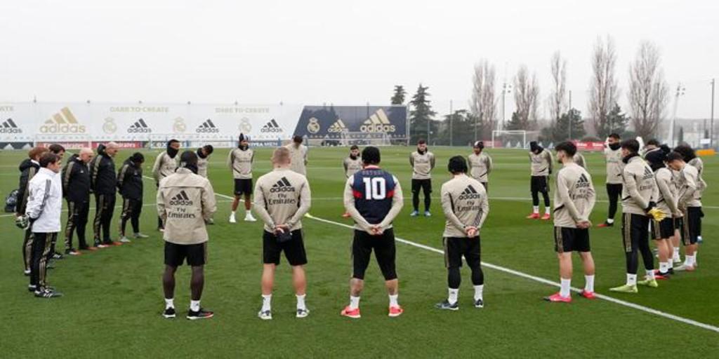 El Real Madrid guardó un minuto de silencio en homenaje a Kobe Bryant