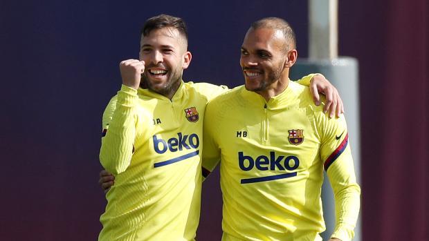 Jordi Alba vuelve a la lista del Barça para el clásico