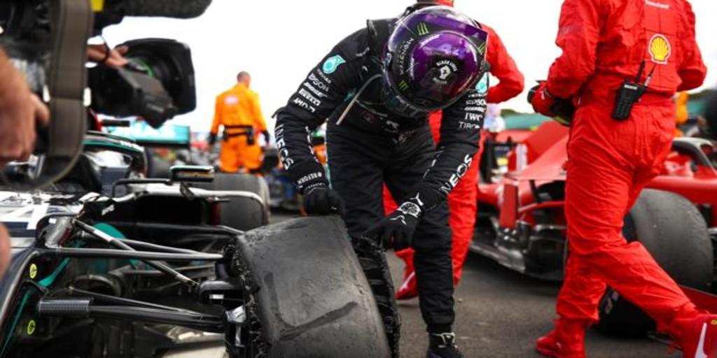 Pirelli investigará los pinchazos de Hamilton y Sainzña