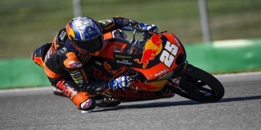 Raúl Fernández logra la primera pole de su carrera