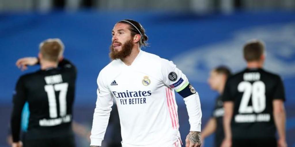 Alerta en el Madrid: Ramos, operado de menisco, dos meses de baja