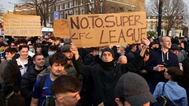 Chelsea y City meditan ya su salida de la Superliga