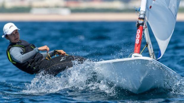 España en puestos de obtener la plaza olímpica por país en ILCA 7
