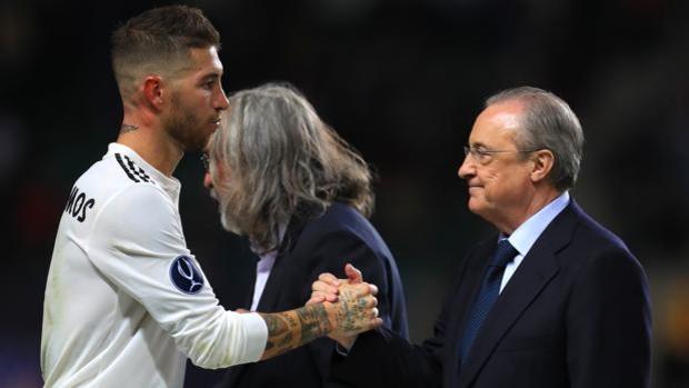 """""""Real"""" Ramos uchun xayrlashish marosimini o'tkazmoqchi"""