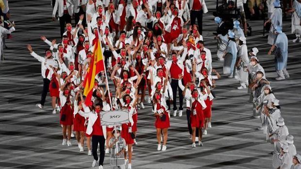 Ceremonia de inauguración de los Juegos Olímpicos de Tokio 2020 en directo