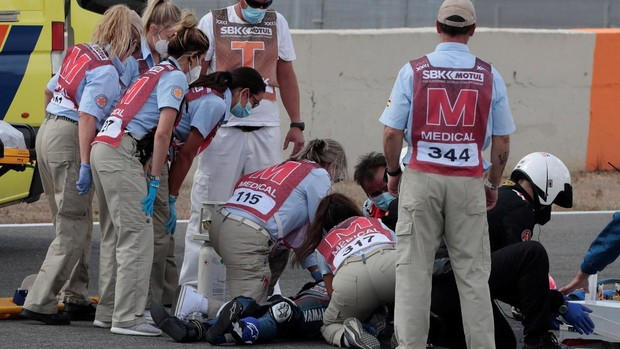 Superbikes: Muere el piloto español Dean Berta Viñales tras sufrir un  accidente en Jerez
