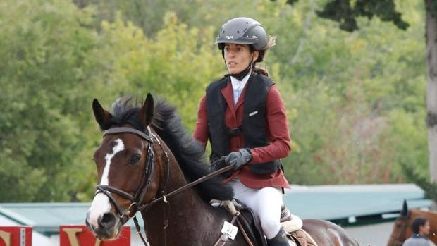 Fallece la amazona Elena Legarra por la coz de un caballo
