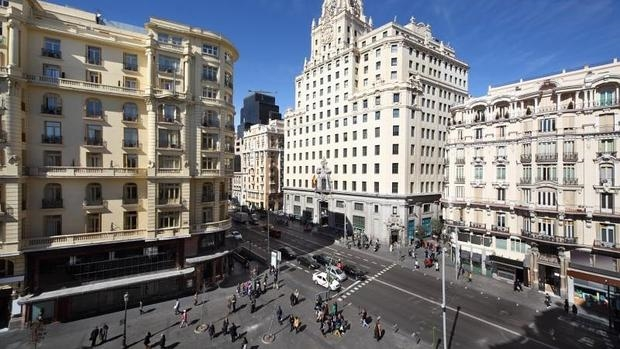 El número 5 de la entonces de la Avenida de Conde de Peñalver, hoy en pleno Gran Vía, aloja en la actualidad la sede de Fundación Telefónica