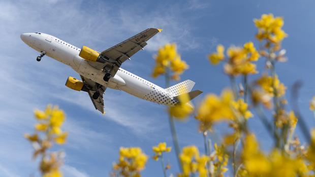 Un avión de la aerolínea aterriza en el aeropuerto de El Prat
