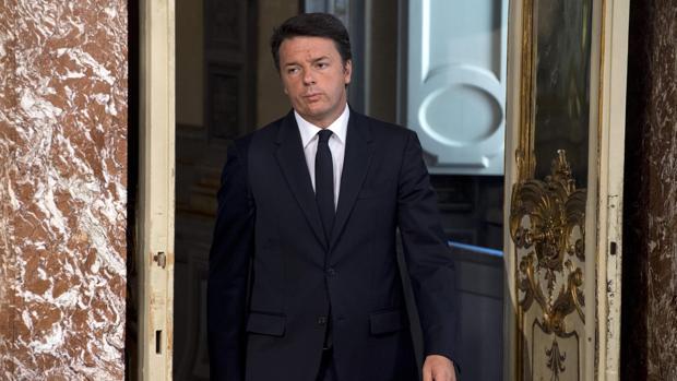 En la imagen, el primer ministro italian, Mateo Renzi