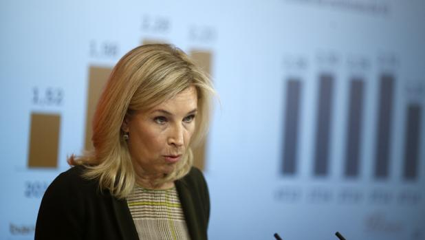 La consejera delegada de Bankinter MarÍa Dolores Dancausa