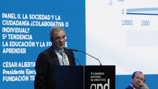 César Alierta, último presidente del CEC
