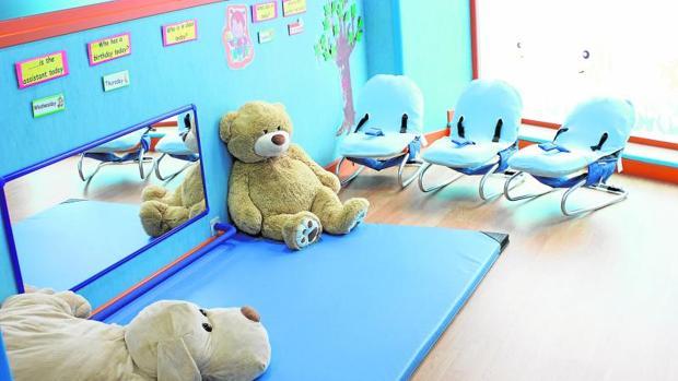 Interior de una de las escuelas de Nemomarlin