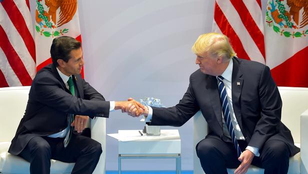 Reunión entre Enrique Peña Nieto y Donald Trump