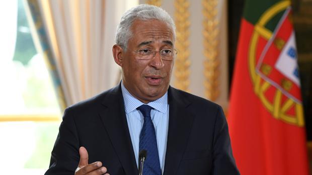 El primer ministro portugúes, Antonio Costa