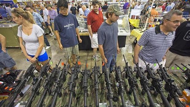 Mercado de armas en Estados Unidos