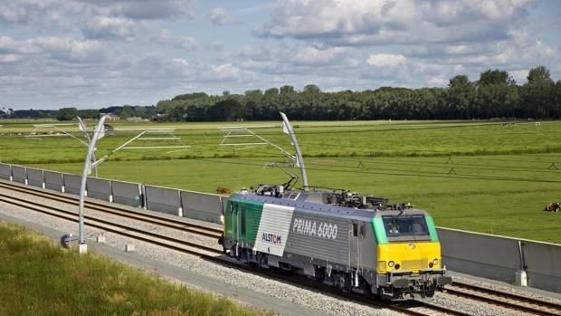 Locomotora Prima, que recorrerá la línea
