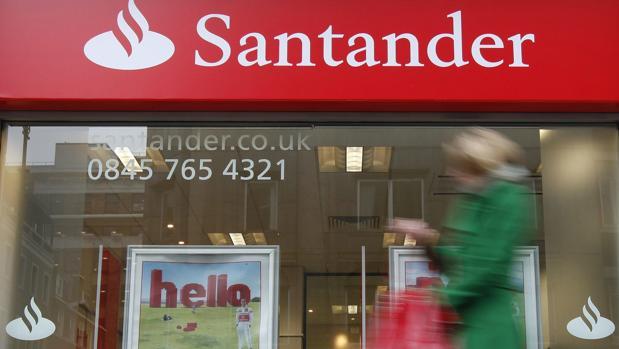 Oficina del Banco Santander en Londres