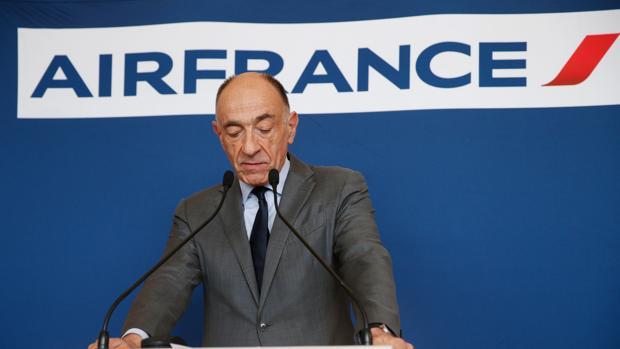 an-Marc Janaillac, presidente de Air France-KLM
