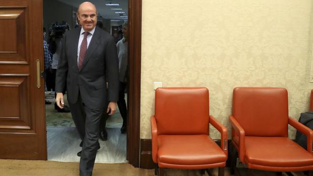 Luis de Guindos aterriza hoy en su nuevo cargo del BCE