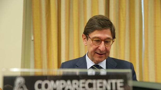El presidente de Bankia, José Ignacio Goirigolzarri, en su comparecencia ante el Congreso
